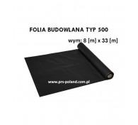 Folia budowlana typ500 8x33