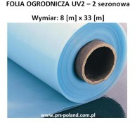 FOLIA OGRO. UV2 II sezonowa 8x33m