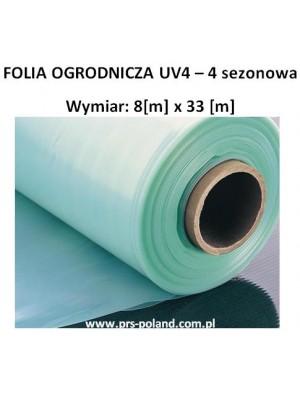 FOLIA UV4 IV sezonowa 8x33m