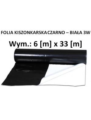Folia Kiszon. Czarno - Biała 6x33