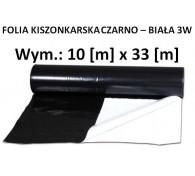 Folia Kisz. Czarno-Biała 10x33