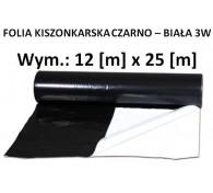 Folia Kisz. Czarno-Biała 12x25