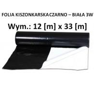 Folia Kisz. Czarno-Biała 12x33