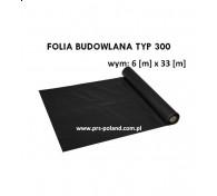 FOLIA BUDOWLANA TYP300 6x33